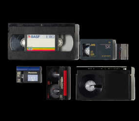 convert VHS, mini-DVD, DVD o digital